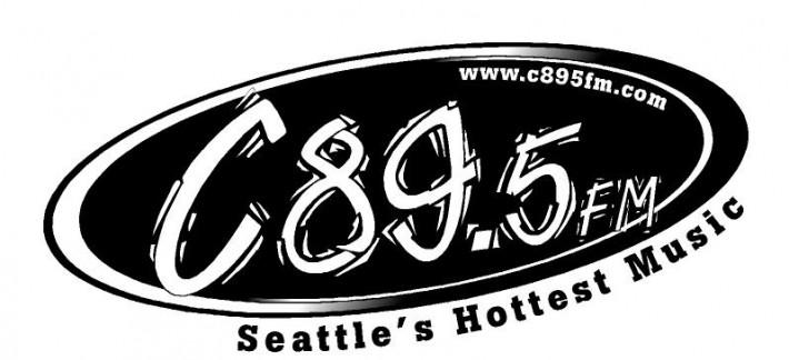 C-89.5fm Logo B&W