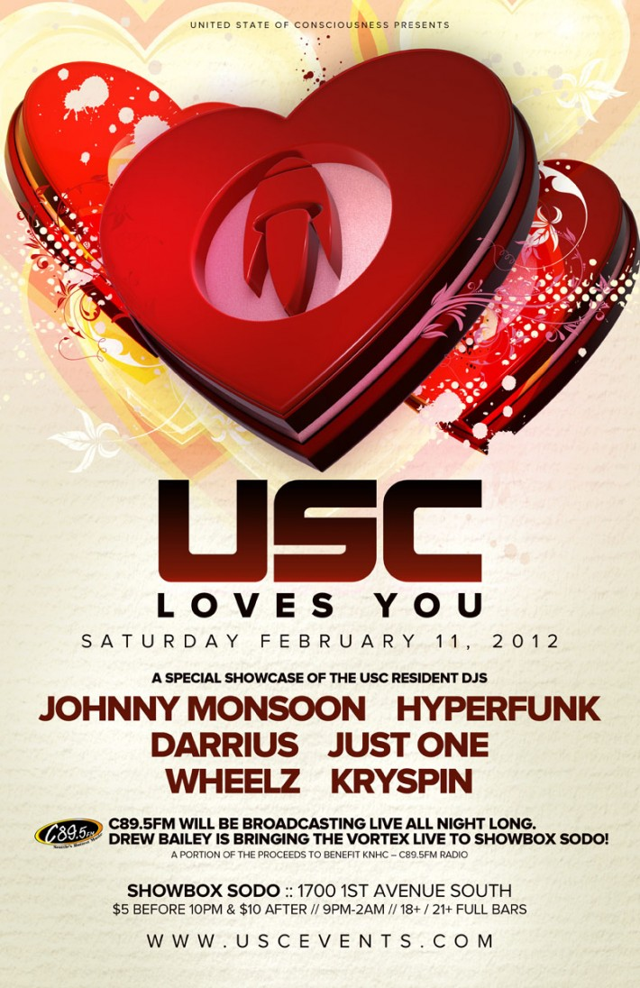 USC Loves You: C89.5FM Benefit