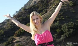 Grace Valerie hiking!