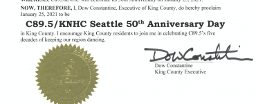 KingCo Proclamation