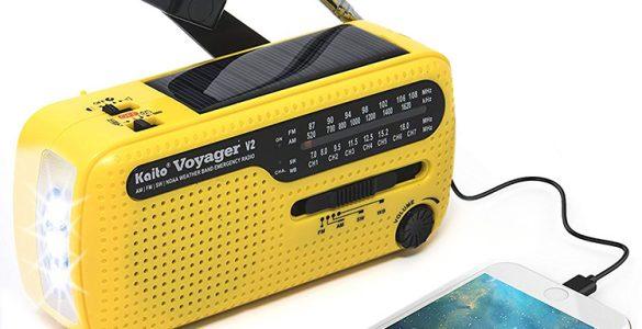 Kaito Voyager 2 Compact Emergency Radio