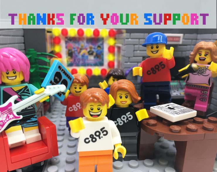 LEGO Action Figures Say Thanks!