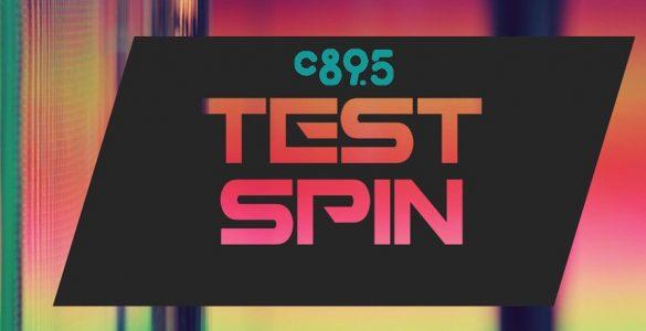 C89.5 Test Spin Logo