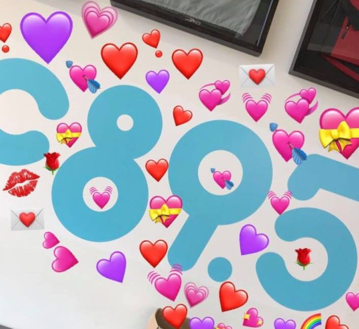 Hearts flowing through C89.5
