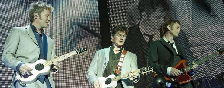 A-Ha live in concert