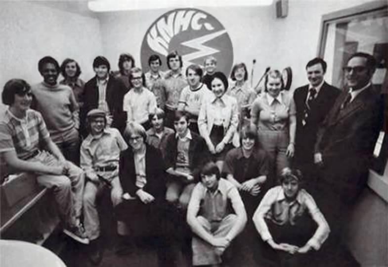 C89.5 Students, circa 1974