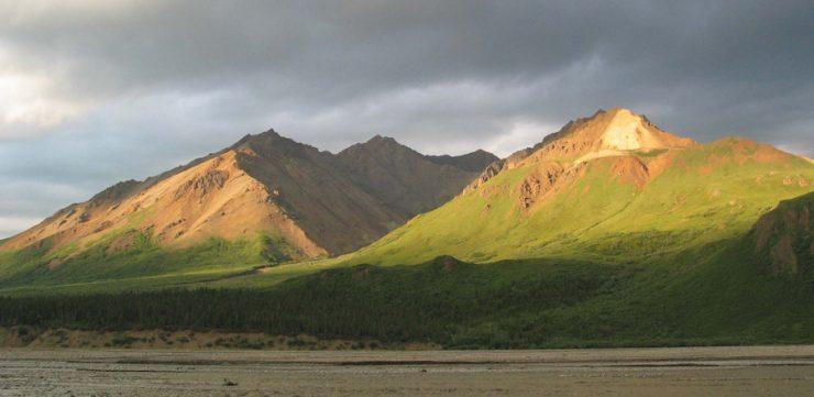 """""""Toklat View"""", Denali National Park & Preserve. Source: National Park Service, 2010, public domain."""