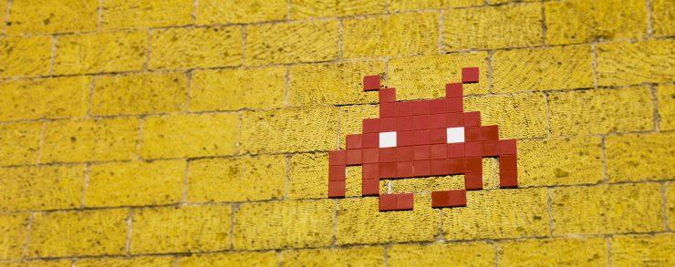 Retro Gamer Wall Art