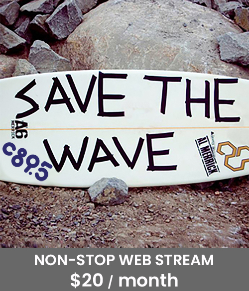Save the Wave non-stop web stream